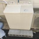 200円二層式洗濯機