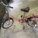 折りたたみ自転車【3月23日までに取りに来てくれる方、歓迎】