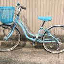 女の子 22インチ自転車