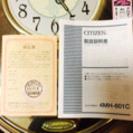 【新品】CITIZEN 掛け時計