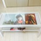 ローテーブル ガラステーブル