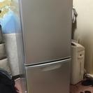 ★パナソニック 冷凍冷蔵庫 NR-B146W-S 2013年 美品