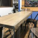 無垢一枚板オーダーテーブル