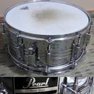 Pearl パール スネアドラム スチール 14×6.5 ケース付
