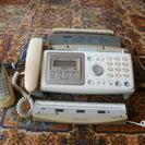 ブラザー普通紙FAX電話 子機付き FAX-1000CL