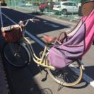 4/1(土)限定!子ども乗せ付き自転車