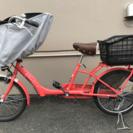値下げ:子乗せ自転車 アサヒ ママフレ 2015年12月購入