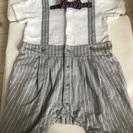 お値下げ‼︎オシャレな男の子セレモニー用ベビー服80