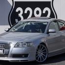 【誰でも車がローンで買えます!】 アウディ A6 サンルーフ、黒革...