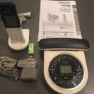 パナソニック コードレス電話機 子機1台付き