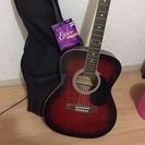 アコースティックギター バッグと替えの弦1セット付き