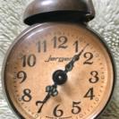⏰jergerゼンマイ式レトロ目覚まし時計ドイツ製