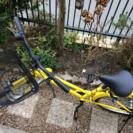黄色のシティサイクル