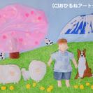 赤ちゃんのおひるねアート♪撮影会 3/23 すすき野団地集会所(横...