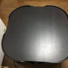 椅子が出ない食卓テーブル&四脚