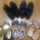 M〜Lサイズ婦人靴5足セット!(パンプス・サンダル)