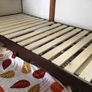 シングルベッド(簡単に組み立てる)