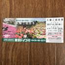 値下げ 東京ドイツ村 ご招待券(この1枚にて最大10名まで入場可)
