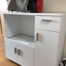 キッチン収納 食器棚 炊飯器 レンジ台