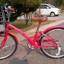 子供用 自転車 22インチ 6段変則