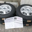 軽バン用、12インチ、145R12、LT新品未使用タイヤ、ホイール...