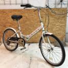 【セール!】20インチ折りたたみ自転車