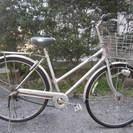 28インチ自転車(シティサイクル、内装3段)