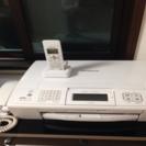 電話 FAX コピー 子機付き 電話機 ジャンク