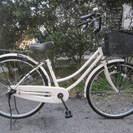 26インチ自転車(タウンサイクル、変速機なし)