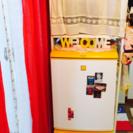 SHARP SJ-14VJ 冷蔵庫。ラックとセット。