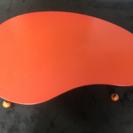 カジュアルテーブル オレンジ