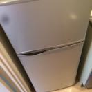 SHARP 単身用冷蔵庫(118L)