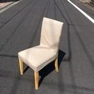 無印良品の椅子2脚、グレー系です