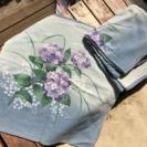 座布団カバー 紫陽花4枚