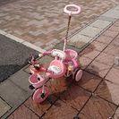 ミニーマウスの三輪車です。