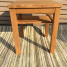 無印良品 タモ材 サイドテーブル