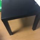 ブラックミニテーブル