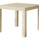 二個セット IKEA イケア 白い 机 ホワイト テーブル
