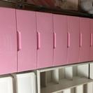 ピンクのチェストの画像