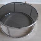 円形 ガラステーブル シンプルモダン 直径80cm リビングテーブ...