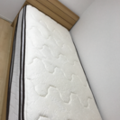 価格応相談 ニトリ製 シングルベッドボード 付き+ シーリー製マットレス