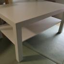 IKEA ローテーブル 白 の画像