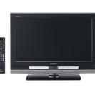 美品 SONY 22型 液晶テレビ  2012 ブラック BRAVIA