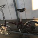 中古 シボレー折りたたみ自転車