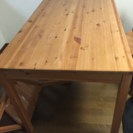 ダイニングテーブルです