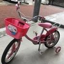 幼児用キティちゃん自転車 16インチ