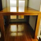 温風こたつ機能つきテーブル