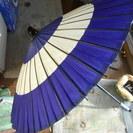 昔の紙の傘