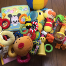 【中古】赤ちゃん向けのおもちゃセット