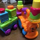 【中古】幼児向け機関車のおもちゃ(Fisher Price)